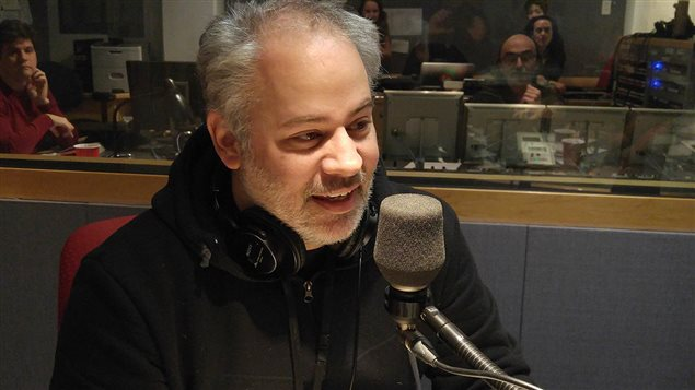 Martin Carli, coanimateur de l'émission <em>Génial</em>, à Télé-Québec