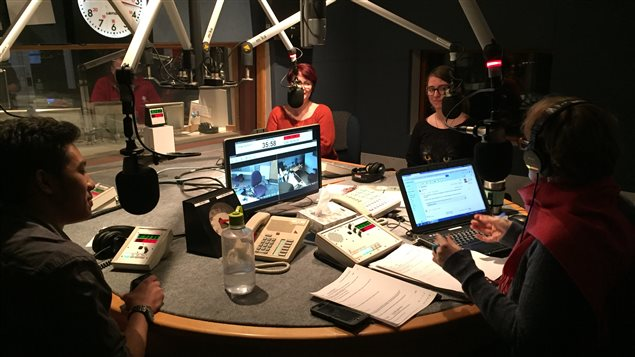 Quelques participants du projet Jeun'info reviennent sur leurs premières impressions du métier de journaliste lors de l'émission l'Actuel.