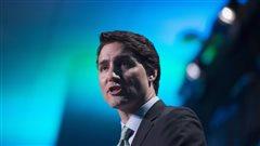 Justin Trudeau, au Globe 2016 à Vancouver, le 2 mars 2016.