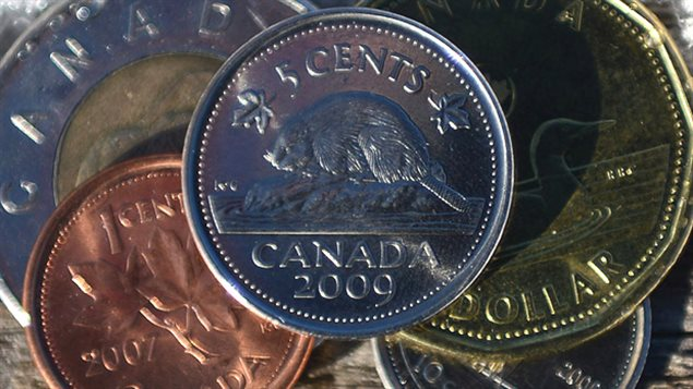 The beaver is the symbol used on the Canadian five-cent coin since 1937.
