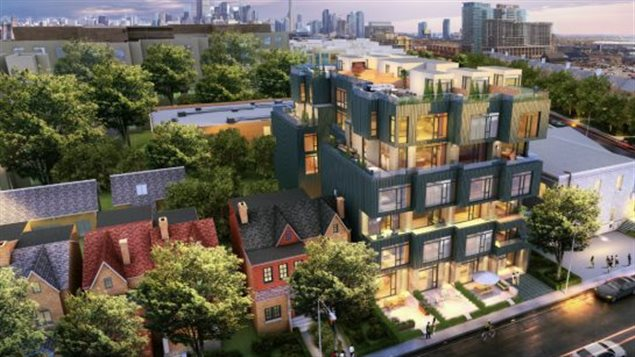 One project expected to be constructed this summer is the Cabin by BILD member Curated Properties and architect RAW Design in Toronto's Queen West neighbourhood. The project will features 25 of the two-storey units each with its own small yard, private rooftop garden or terrace.