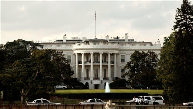 La Maison-Blanche aux États-Unis.
