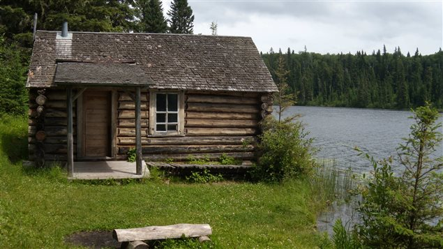 While researching her book, Backhouse visited the wilderness cabin in Prince Albert National Park where beaver-conservationist Grey Owl lived with his pet beavers.