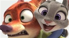 Images tirées du film <i>Zootopia</i>, réalisé par Byron Howard et Rich Moore pour les studios Disney