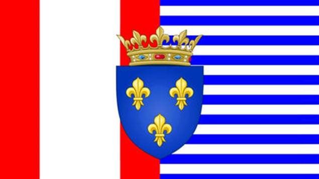 Drapeau des francophones Nord-Américains