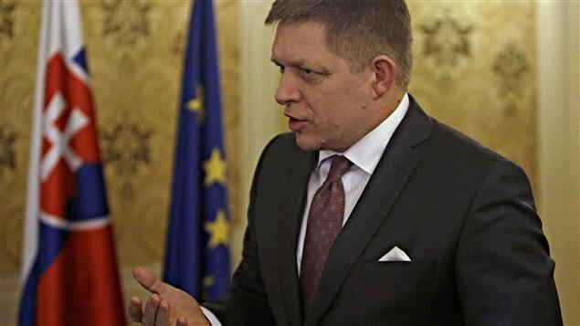 Le premier ministre slovaque Robert Fico