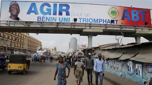 Les publicités électorales ont mené les Béninois jusqu'au scrutin de dimanche.