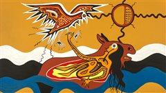 Nanabush Catches The Eagle
