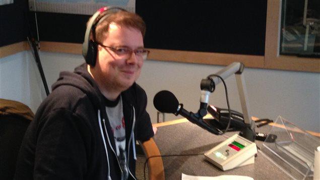 Francois Marchand, journaliste du Vancouver Sun