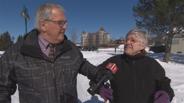 Lorraine Loranger marche 8000 kilom�tres pour sensibiliser les Canadiens � la r�alit� des femmes et des enfants du Nunavik.