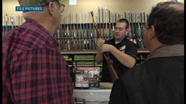 how to get a gun license in quebec