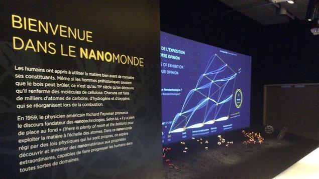 L'exposition Nanotechnologies : l'invisible révolution est présentée au Musée de la civilisation