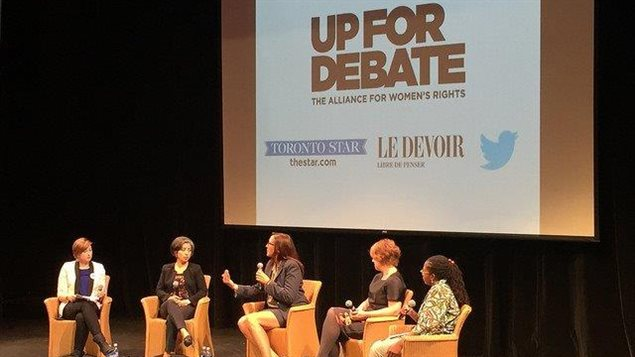 Panelists from diverse groups joined on Sept. 21, 2015 to discuss women's issues during the federal election campaign.