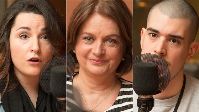 Marilyse Hamelin, Julie Miville-Dech�ne et Koriass