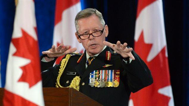 El jefe del Estado Mayor del Ejército canadiense, el general Jonathan Vance.
