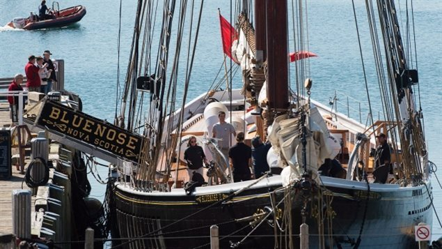 2015-The completely rebuilt Bluenose II,