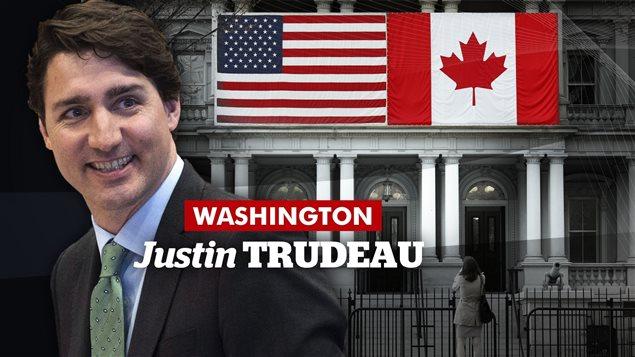 Rencontre entre Justin Trudeau et Barack Obama     Photo : Radio-Canada