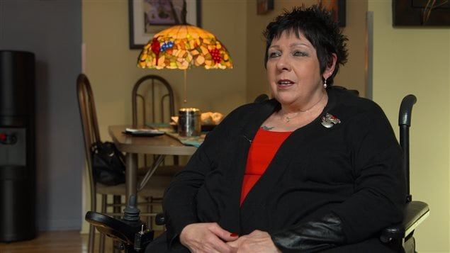 Linda Gauthier, présidente du RAPLIQ