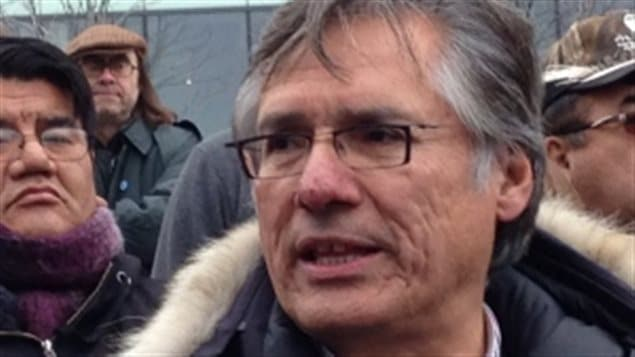 Oct 2015  Matthew Coon Come, Grand Chief of the Cree Nation in Quebec