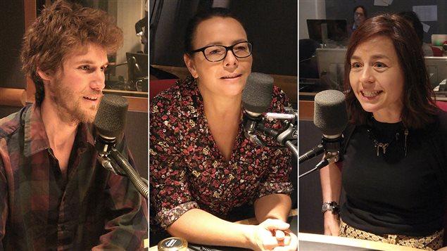 Stéphane Albert, Anne-Virginie Schmidt et Laure Waridel