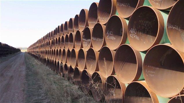 Le projet de pipeline Keystone XL, de TransCanada, a été rejeté en novembre par le président des États-Unis Barack Obama.