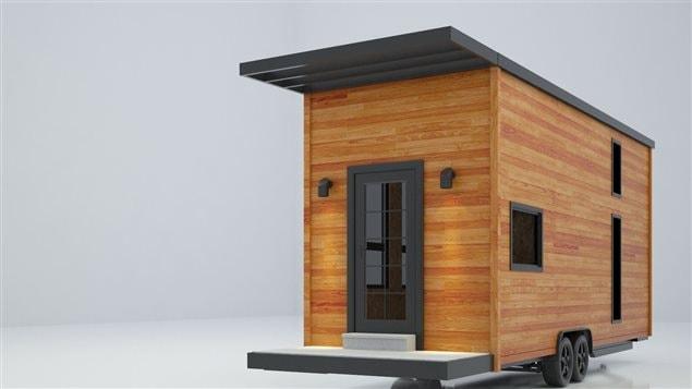 Expo habitat mauricie la maison miniature vole la for Minimaliste mini maison