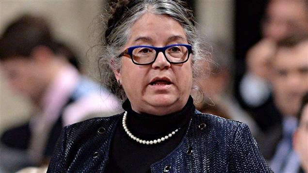 La ministre libérale du Revenu, Diane Lebouthillier