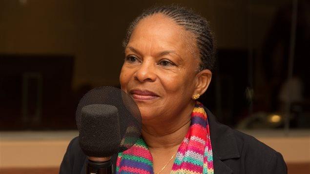 Christiane Taubira, ex-ministre de la Justice en France