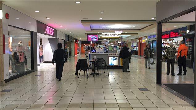 Le Kingsgate Mall est souvent très peu achalandé
