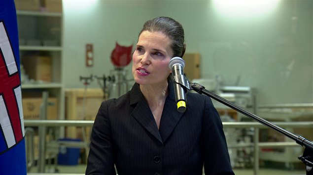 Kirsty Duncan, ministre fédérale de la Science
