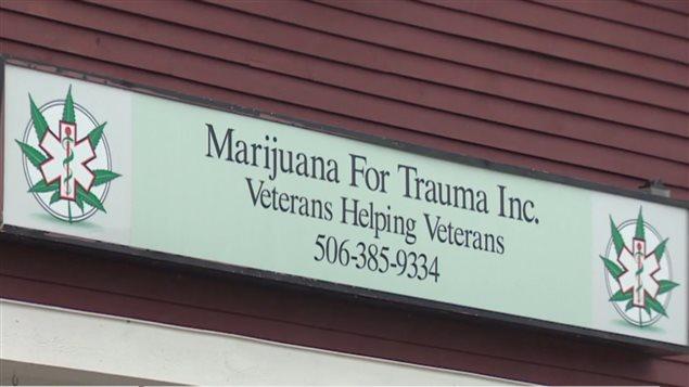 Centro de ayuda para veteranos de guerra.