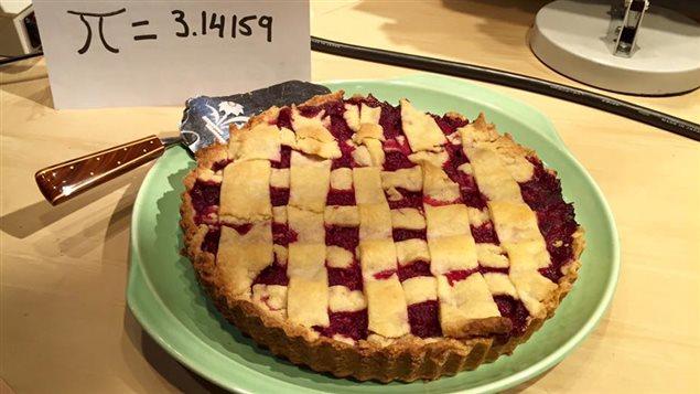 Une tarte pour souligner le Jour de Pi.