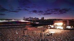 L'espace extérieur réservé aux festivals pourra accueillir jusqu'à 140 000 personnes.