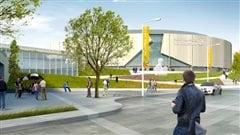 Une image de la future place Rexall