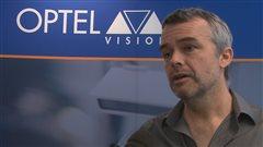 Louis Roy, président d'Optel Vision