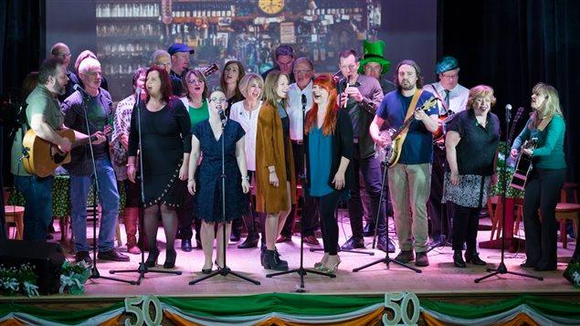 Un des moments du 50e Shannon Irish Show présenté le 13 mars 2016.