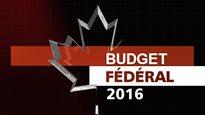 Budget fédéral 2016
