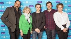 Denis Bernard, Micheline Lanctôt, Stéphane Bourguignon, Rafaël Ouellet et Macha Limonchick de « Fatale-Station »