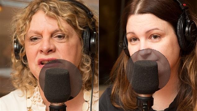 Michelle Blanc et Geneviève Pettersen