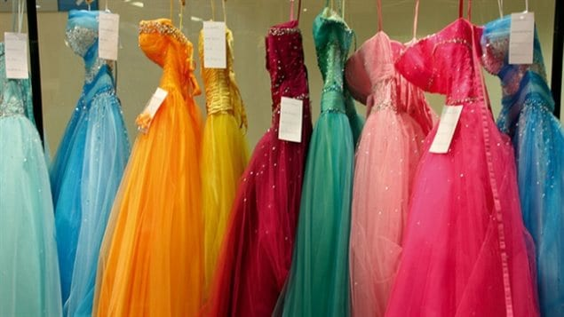 Prom Dress Exchange Helps Girls In Need