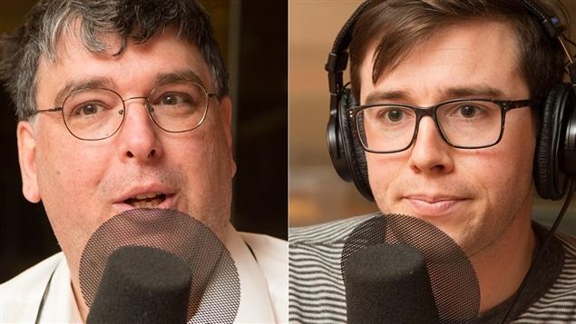 Jean-Benoît Nadeau et Marc-André Sabourin