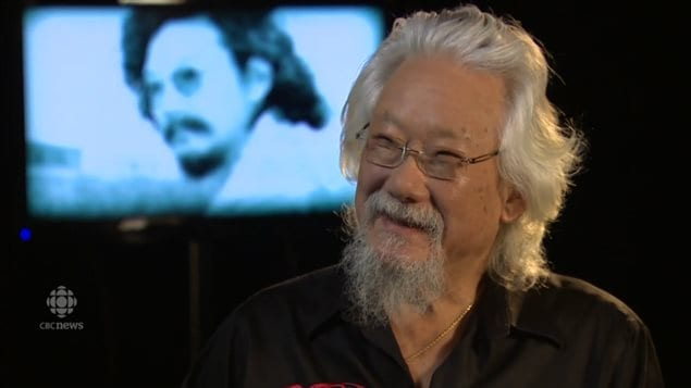 Scientist David Suzuki, one of Canada's and the world's most authoritative and recognized voices on the environment. (certainly in Canada). As he approaches his 80th birthday, he is dismayed at what he says is the environmental movement's failure to change society's attitudes.
