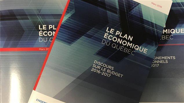Documents sur le budget du Québec 2016-2017