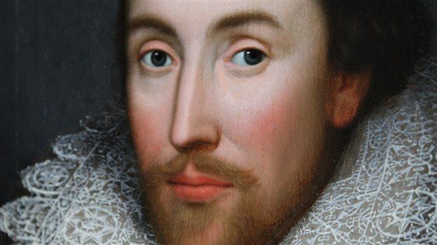 Le portrait présumé de William Shakespeare.