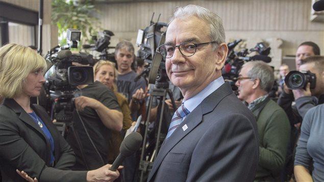 Le commissaire de l'UPAC, Robert Lafrenière