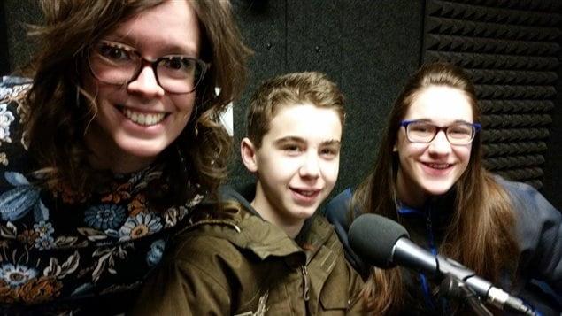 Estelle Côté-Sroka, Gregory Cousin et Dana Ronellenfitsch