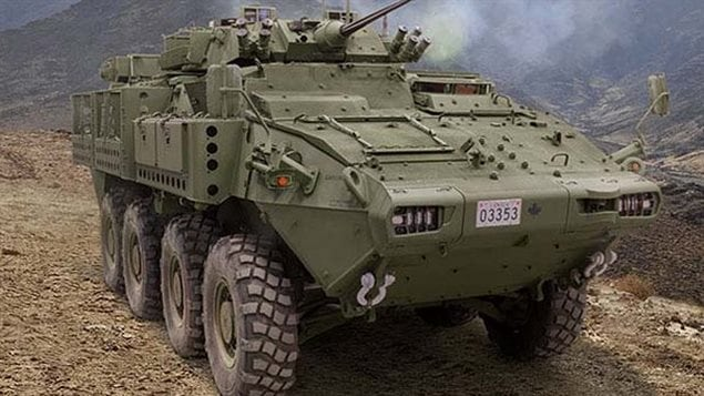 The newest version of the Canadian-made Light Armoured Vehicle is called LAV 6.0. The contract to supply hundreds of vehicles to Saudi Arabia is worth $15 billion.
