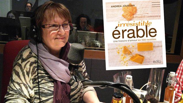 Andrea Jourdan, auteure du livre <em>Irr�sistible �rable</em>