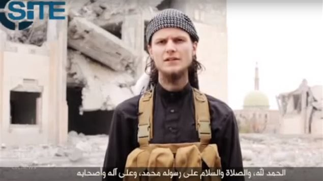 Canadian John Maguire,24, in an ISIS video *I was one of you: I was a typical Canadian...* he begins before saying he has found the truth, and inviting other Canadians to join him in the fight.  He was reported killed in January 2015.
