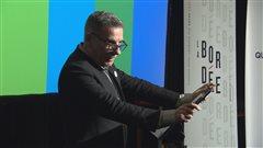 Le directeur artistique de la Bordée, Jacques Leblanc, a présenté la 40e programmation.